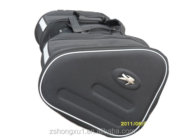 Automobiles & Motorcycle Accessories black motor saddle bag