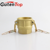 Wholesale high quality brass quick camlock coupling with male or female threaded