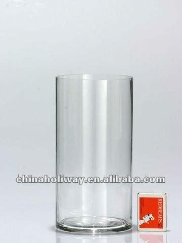 Small Plain Cylinder Glass Vase Buy Plain Glass Vasecylinder