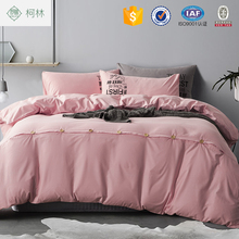 100% cotton colorful hotel bed sheet/comforter set/bedding set