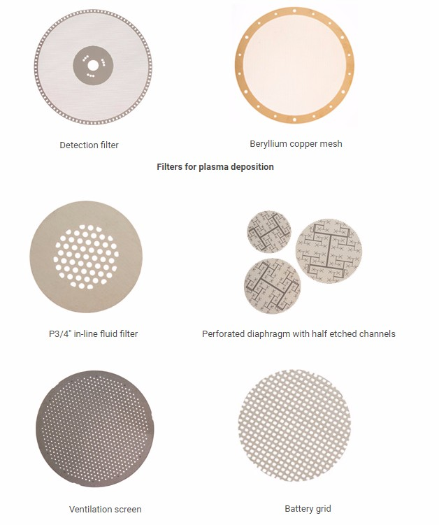 2017 New Chemical Etching Filter Mesh