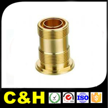non-standard CNC turning machining brass parts micro drilling central machinery lathe milling parts