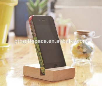 Hot Sell Personalized Gifts Wooden Crafts Creative Mobile Phone Holder Made In China
