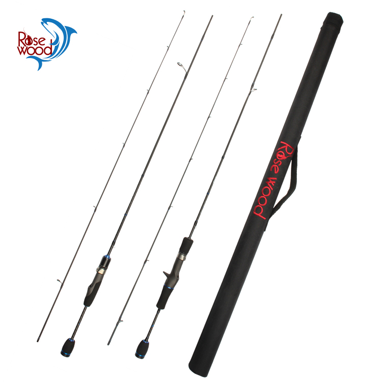 Rosewood best quality 1.8m trout rod fuji fishing rod spinning guides ring and reel seat ultra light fishing pole tackle chinese