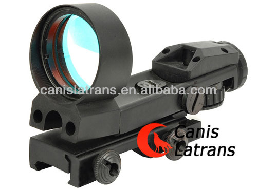Reflex Red Dot Sight 33mm Heads Up Display 4-Pattern Reticle with 11mm rail