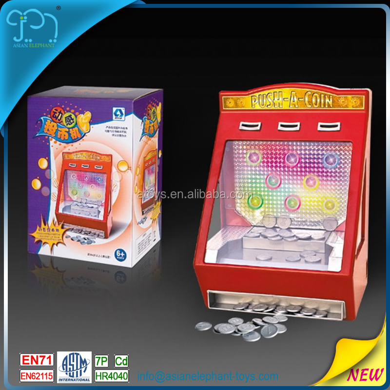 Coin Operated Toys For Children Coin Slot Machine For Kids Coin Operated Machine With EN71