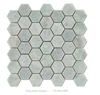 48mm Hexagon Ming green Marble natural stone Mosaic decoration tiles