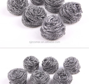metal Cleaning balls / stainless steel scrubber / stainless steel scouring pad