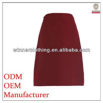 567e3db0ea Modelos De Faldas Largas Con Color Rosa Y Una Línea Formal oficina ...