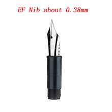 Оригинальная перьевая ручка Delike EF/EF, наконечник для Alpha NEW MOON, ручка с чернилами, канцелярские принадлежности для офиса, школьные принадлежно...(Китай)