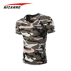2017 Latest Design Men Printed Polyester Camo T Shirt