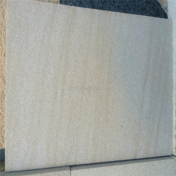 Natural Sandstone Yellow Color Tile For Exterior Wall Cladding