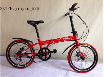 "Aluminum Alloy Rim Material and 20"" Wheel Size lightweight 20 inch folding <strong>bike</strong>"