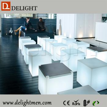 Led Cube Seat Lighting Night Club