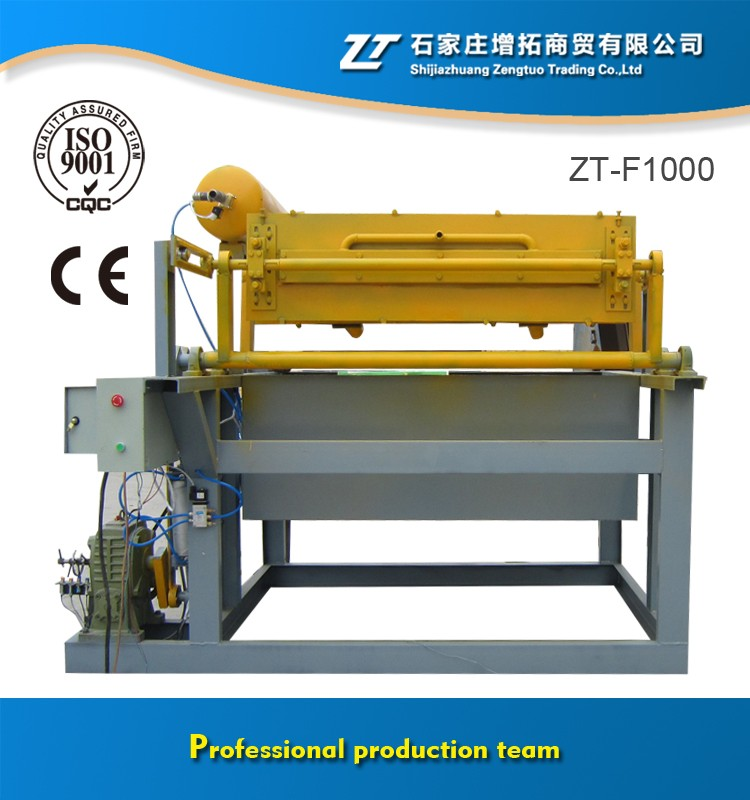 2016 new machine line and Auto production line egg tray ce paper