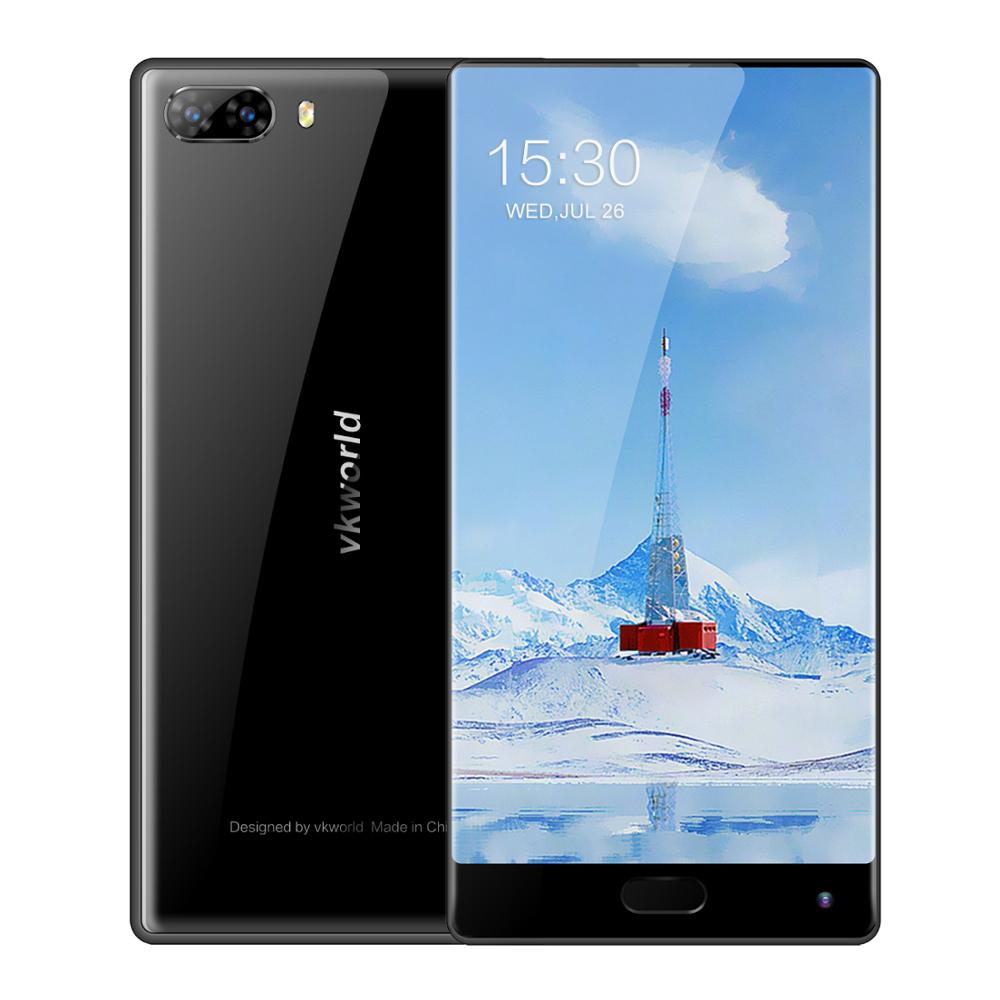 Factory Sale VKWORLD Mix 2 Bezel Less 5.99'' FHD RAM6G ROM128G Dual SIM Dual Camera Android 7.0 4G Mobile Phone