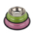 Wholesale Cheap Stainless Steel Pet Feeder With Silicone Ring Travel Dog Bowl Pet Food Bowl