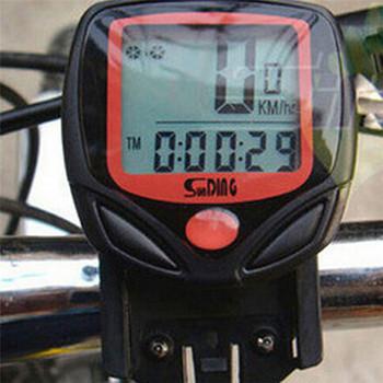 Buy Ordenador Reloj Bicicletas Bicicleta Digital Cronómetro ciclismo Medidor Odómetro De Velocímetro Lcd A354LqjR