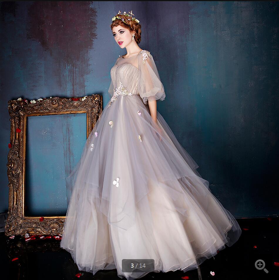 Popular Modest Plus Size Prom Dresses-Buy Cheap Modest