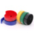 colorful nylon velvet adhesive backed side transparent pp hook loop strap