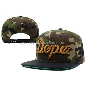 ead215d899ce0 Hot sale customize flat brim camo snapback baseball caps hats