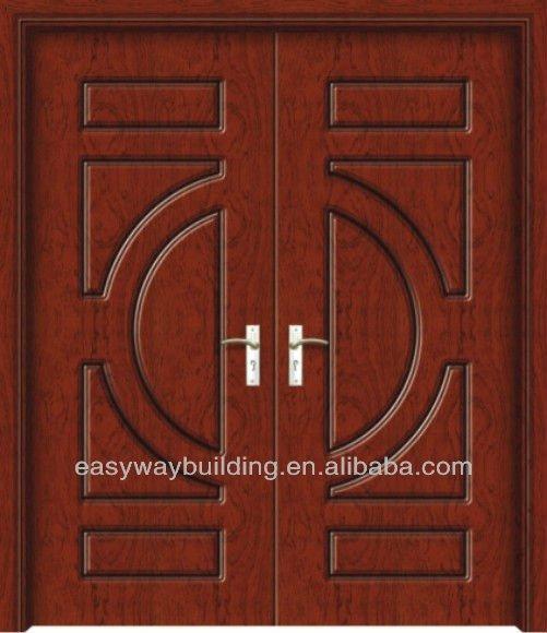 2014 Exterior Carved Wooden Door Designs Double Panels - Buy Main ...