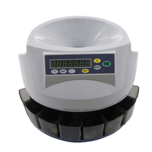 EC50 Fast Sort Automatic Digital EURO Coin Counter coin bank sorter