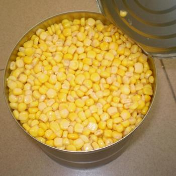 Canned Vegetables Sweet Corn Kernel in Tin
