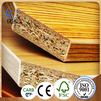 Melamine Faced Laminated Chipboard Furniture Grade Wood Chip Boards