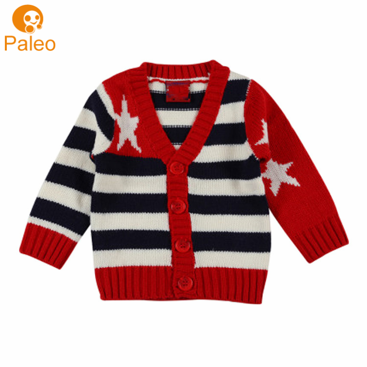 OEM ODM Factory Neues Design Kid chunky Strickwaren Strickjacke Strickjacke