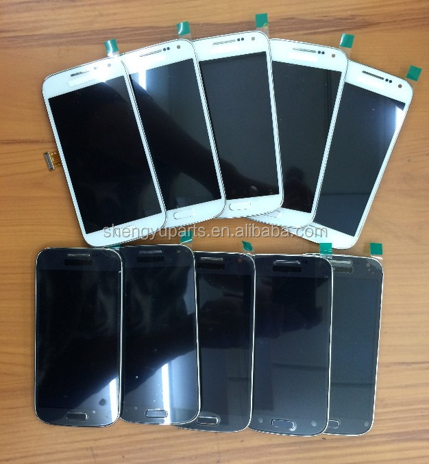 Factory direct wholesale lcd for samsung galaxy s4 mini display digitizer screen i9190 i9192 i9195 lcd touch