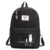 Canvas girls school bag printed kids backpack for children