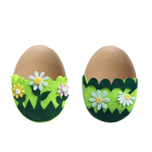 Shangyi felt egg storage holder 랩 큰 부활절 egg 장식
