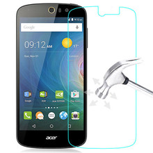 9H 0.26mm Original  High Clear Explosion-proof Front LCD Tempered Glass For Acer Liquid Z530 Z530S Screen Protector Glass Film