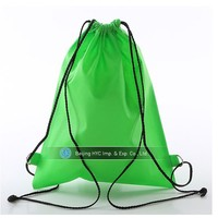 Promotional cheap price personalized non woven drawstring dance shoe bag