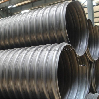 Galvanized Welded Corrugated Steel Culvert Pipe