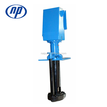 40 PV - SPR Elastomer Rubber Acid Resistant Vertical Slurry Pump / bomba de lama vertical
