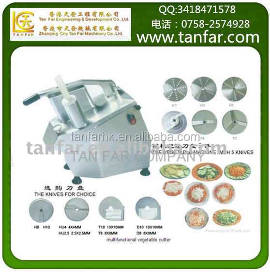 Restaurant Multifunction Electric Industrial Vegetable Cutter,Vegetable Slicer,Vegetable Cutting Machine TF-300