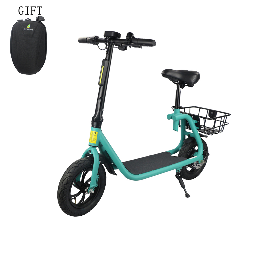 All terrain 350w 12 inch pneumatic tire scooter electric for adult фото