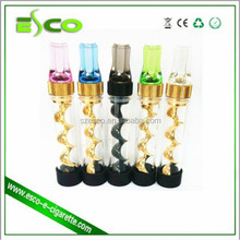 100% original best quality manufacturer V12 mini twisty glass blunt 510 vaporizer ego industrial vaporizer pen