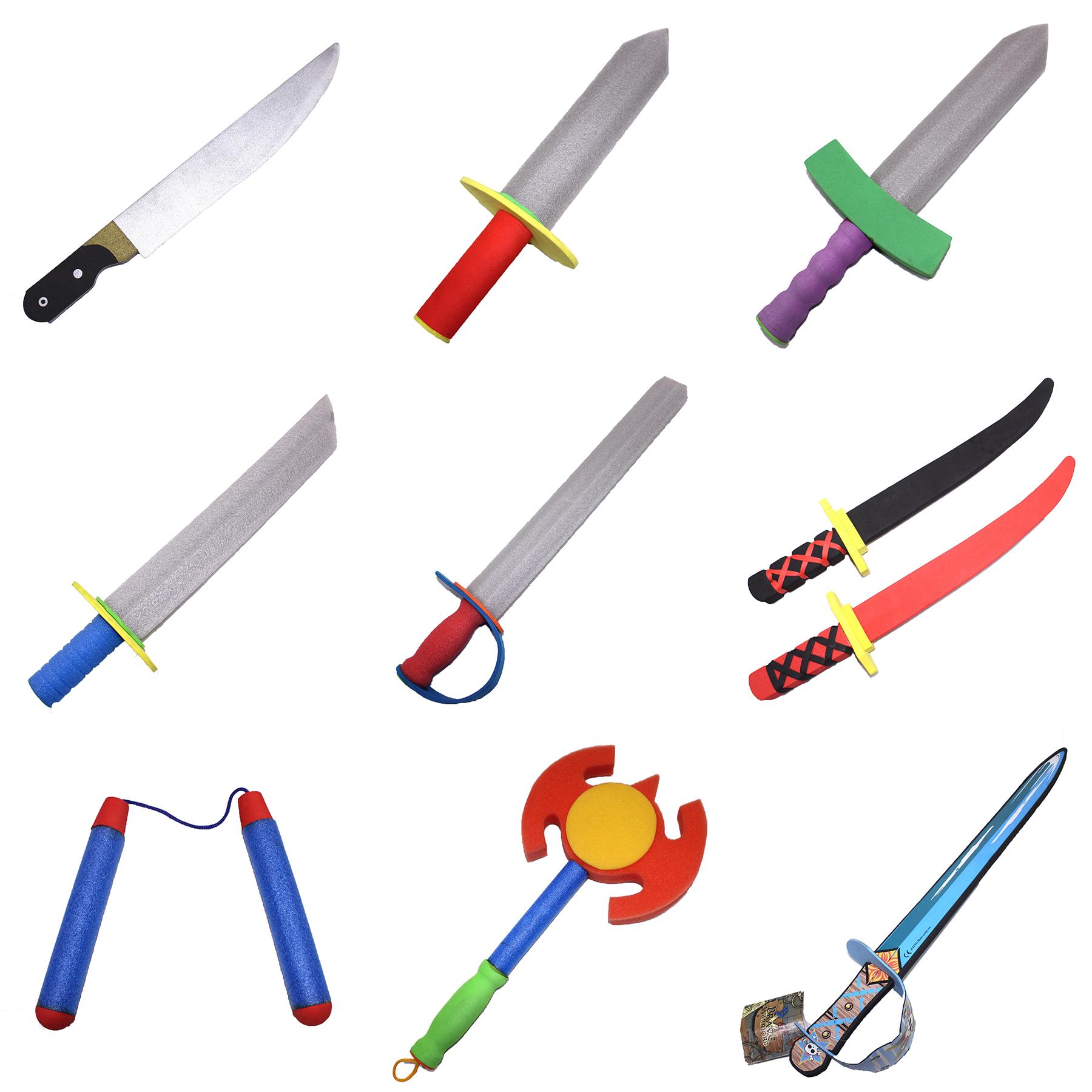 Costume Accessories Kids Toy Scimitar Eva Foam Pirate Sword