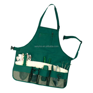 Multi-purpose Garden Tool Apron with Multifunction Pockets Waterproof Wear-resistant Professional for Garden Cleaner Apron