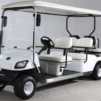 CE approved 6 seats 4 wheels electric vehicle