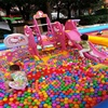 Million sea ball environmental protection PE children pit ball play water toy software for kids to play in the amusement