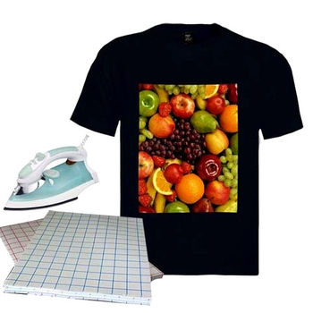 Wholesale Free Samples A3 A4 Size Light Dark T-shirt Inkjet Heat Press Transfer Paper for cotton T shirt