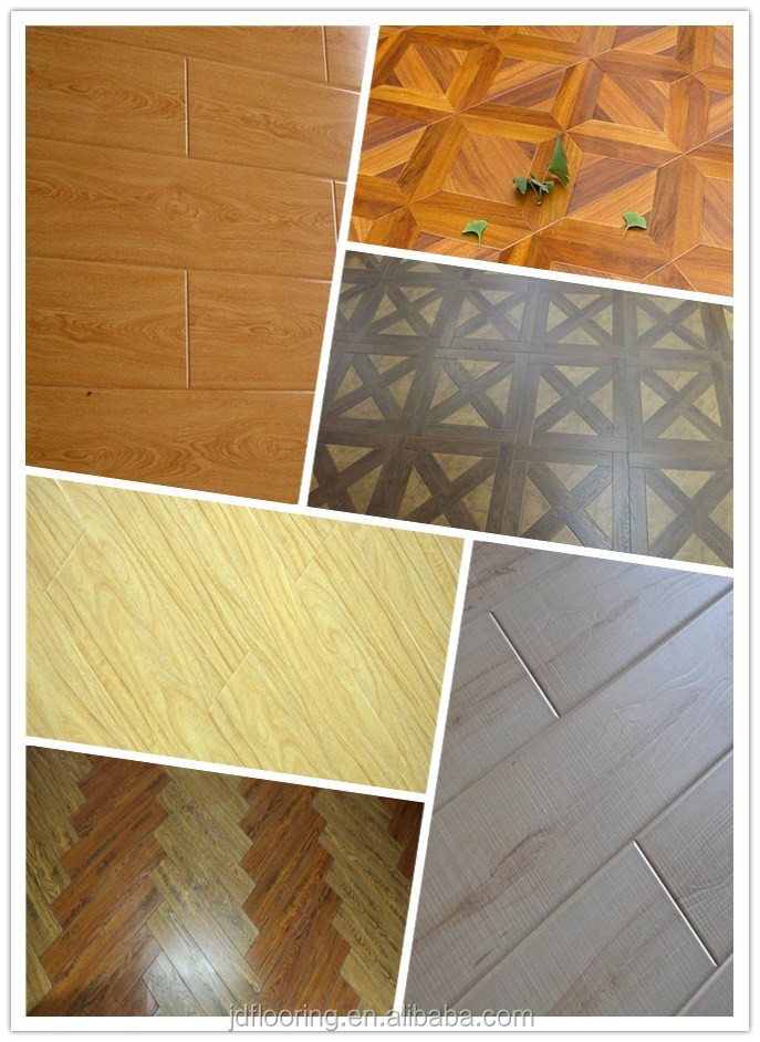 China laminate floor ! Arc-click Lock Flooring Laminate For Domestic Docration