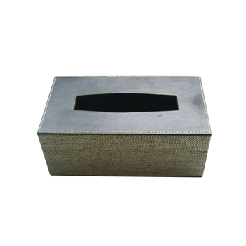 Pu Leather Tissue Box Cover Multipurpose Long Suitable For Outdoor Storage