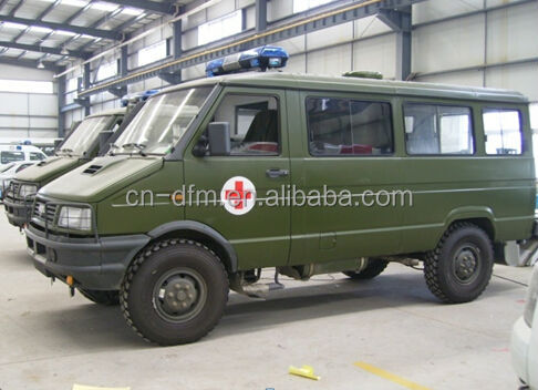 Nj2044gcfp Iveco 4wd Lhd Ambulance 4x4 Ambulance Car For