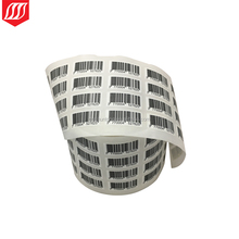 Barcode adhesive sticker ,barcode label printing