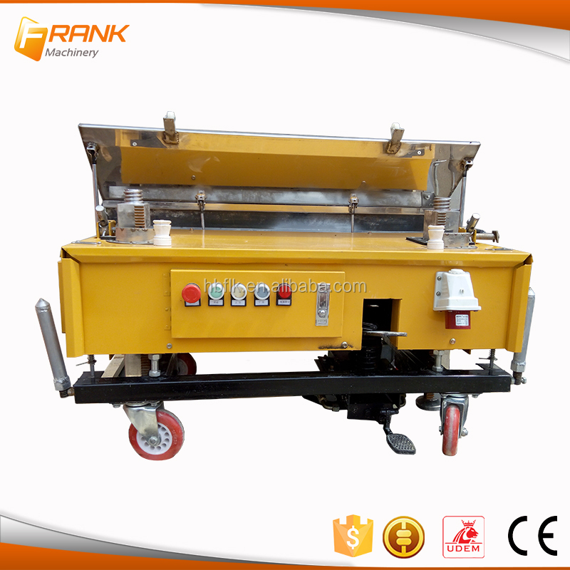 China supplier Producer automatic wall cement wall plastering machine with factory price